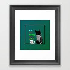 The funguard.. Framed Art Print