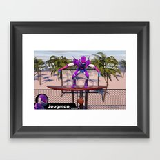 Surf The Net Framed Art Print