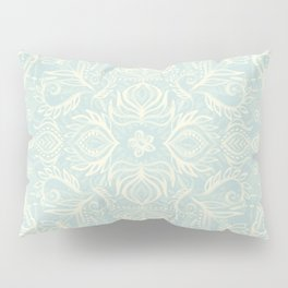 Pale Jade Tattoo - a pattern Pillow Sham