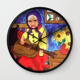 Rock and Rolla  Wall Clock