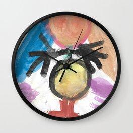 Girl Watercolor Wall Clock
