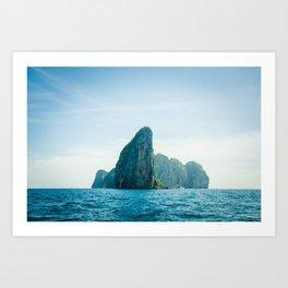 Far Places Art Print