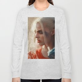 Harley Quinn - The Clown Princess Of Gotham - Suicide Squad Long Sleeve T-shirt