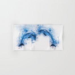 Dolphins Hand & Bath Towel