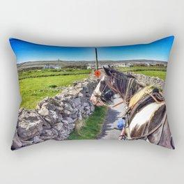 Carriage with a Tinker Pony Rectangular Pillow