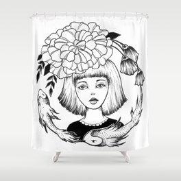 Ink Girl Design - 14.05.17 01 Shower Curtain
