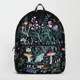 Night Mushrooms Backpack