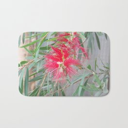 Bottle Brush Flower Bath Mat