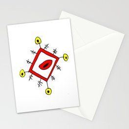 funny lozenge Stationery Cards