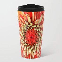 Portland Orange - Deep Carmine Pink Shades Travel Mug