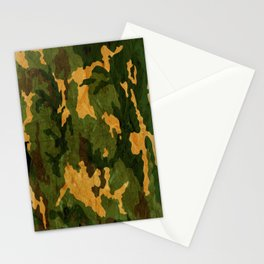 Camouflage Muster Grunge Stationery Cards