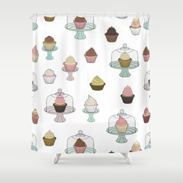 Cupcake, You're So Sweet Shower Curtain