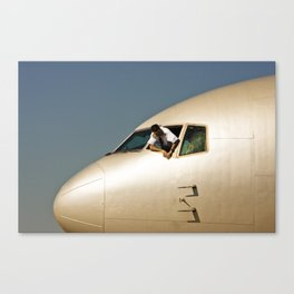 HEY! Can You Check the Oil Too? Canvas Print