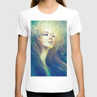 crown T-shirts featuring Crown by Anna Dittmann