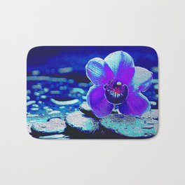 Spreckled Orchid Bath Mat