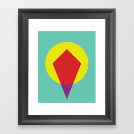 Cacho Shapes LXXXIII Framed Art Print