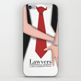 Lawyers & OCD iPhone Skin