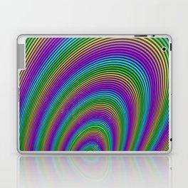 Fractal Rainbow Tunnel Laptop & iPad Skin