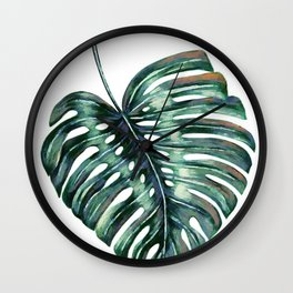 The Leaf Wall Clock