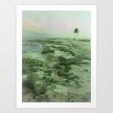 Tip of Paradise Art Print