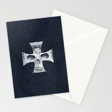 Cross Skull 2.0 Stationery Cards