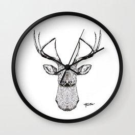 """The Deer Mania"" Wall Clock"