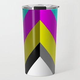 CMYK Vector Shape Travel Mug