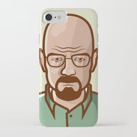 walter white iPhone & iPod Cases featuring Walter White by Sherif Adel