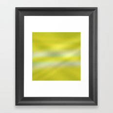 green light ombre Framed Art Print