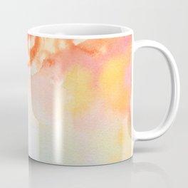 Cherry flowers in the blue jug Coffee Mug