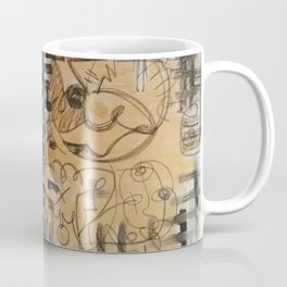 Abstract gold Coffee Mug