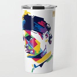 RF Roger Federer Tennis Travel Mug