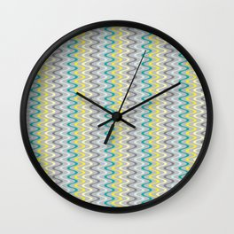 Squiggles & Giggles Wall Clock