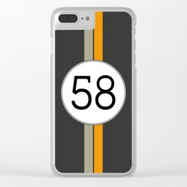 Rally 58 Clear iPhone Case