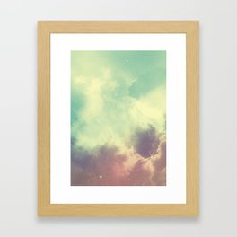 Nebula 3 Framed Art Print