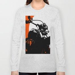 """Motorcycle wheel"" - Classic Car Lovers Long Sleeve T-shirt"