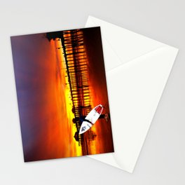 Surfer's Sunset * Huntington Beach, California Stationery Cards