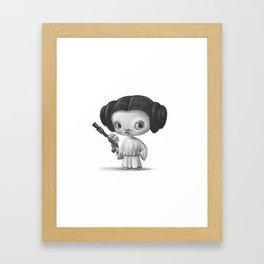 Lil Leia Framed Art Print