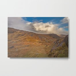 Healy Pass Caha Mountains Ireland Metal Print