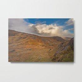 Healy Pass Caha Mountains Ireland Metal Print