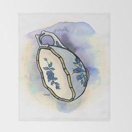 Tittie Tea Cups Throw Blanket