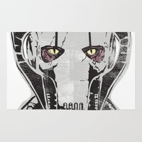 general Area & Throw Rugs featuring General Grievous by Hey!Roger