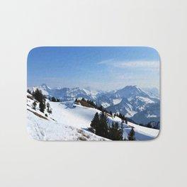 Winter Paradise in Austria Bath Mat
