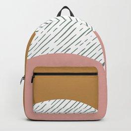 Hand drawn Geometric Line Pattern II Backpack