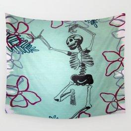 Dancing Bones Wall Tapestry