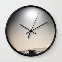 Venice Beach California Guard Tower Wall Clock