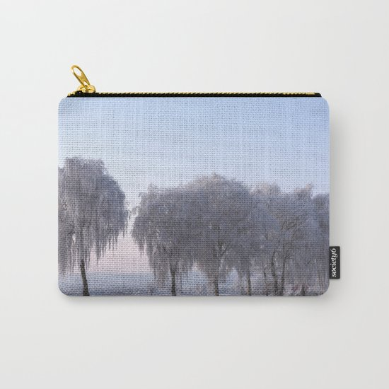 Winter dreams with a birch tree Carry-All Pouch