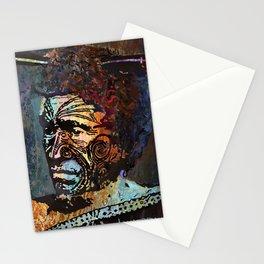 Maori Warrior 2 Stationery Cards
