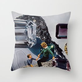Gem Mountian Throw Pillow