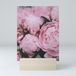 Pink Flowers Photography Mini Art Print